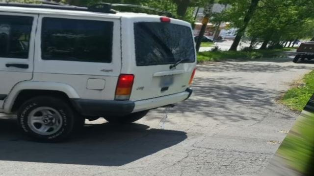 Women in south Louisville say a man in this jeep has been exposing himself for at least two years.