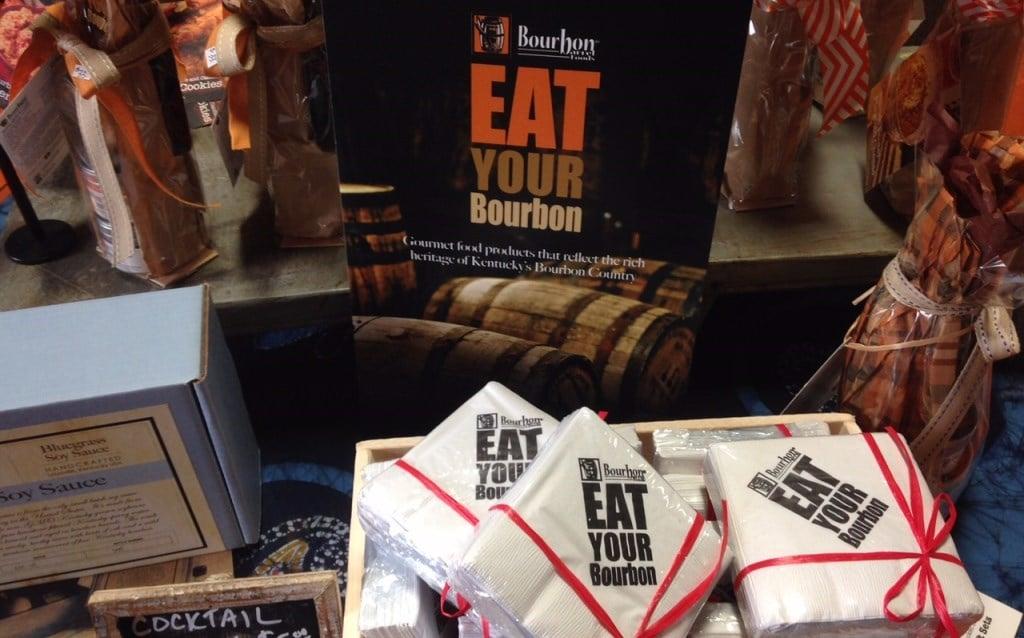 "Louisville-based Bourbon Barrel Foods owns the trademark, ""Eat Your Bourbon"""