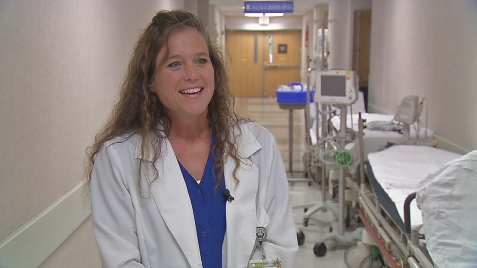 Renee Cecil, Nurse Manager for the Norton Audubon Emergency Department., says they expect to see about 400 patients between Oaks and Mother's Day.