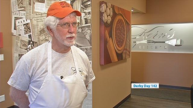 Alan Rupp inherited the Derby Pie business from his grandparents who started it in the 1950s.