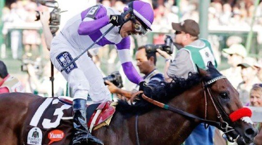 Nyquist ran the fastest Kentucky Derby time in 13 years. (Associated Press [photo, Garry Jones)