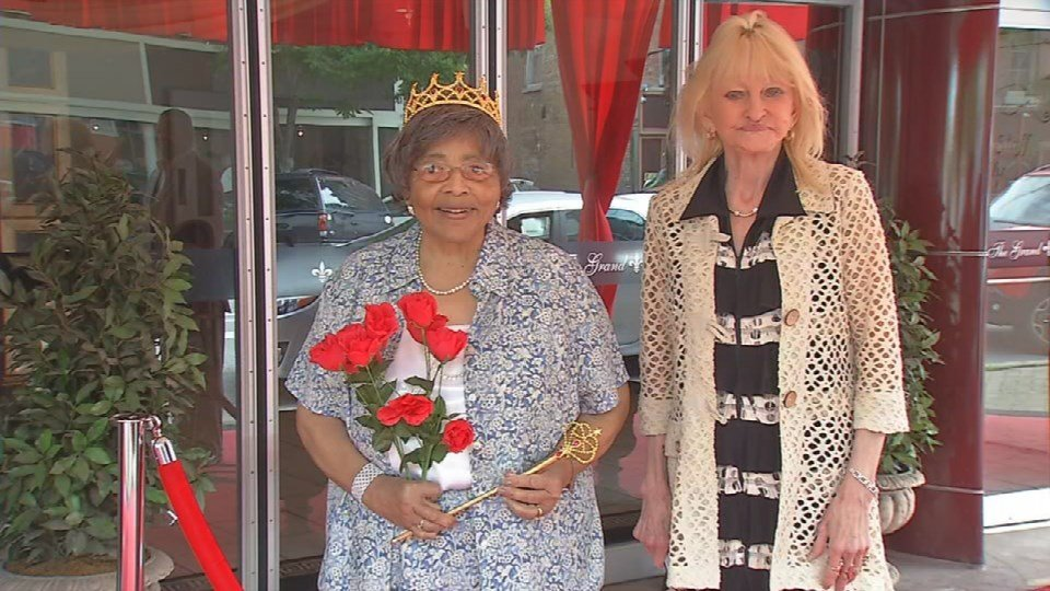 """Emma Walls, 83, was crowned """"Queen for a Day."""""""