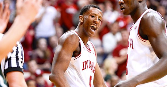 Troy Williams will participate in the NBA Draft combined in Chicago. (Jamie Owens photo.)