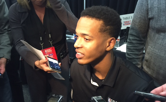 Former UK star Skal Labissiere will not play in games or drills at the NBA Draft combine.