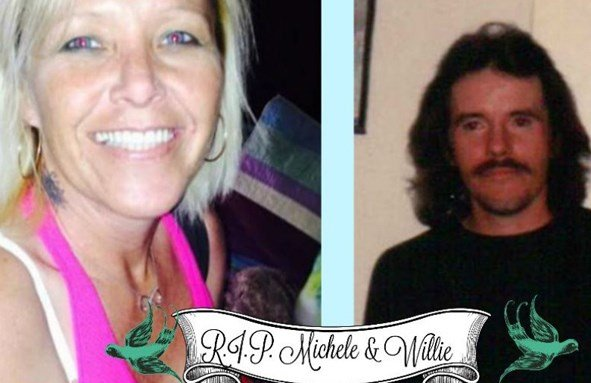 "Deputies found Michele Brewer, 45, and Jesse ""Willie"" Bowling, 51, murdered inside Brewer's home on State Road 356 in Lexington, Indiana on March 28, 2016."