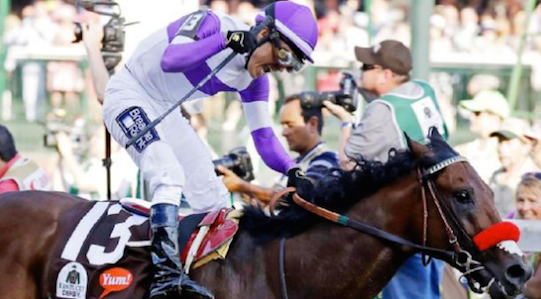 Will the Kentucky Derby victory be the final victory in Nyquist's career?