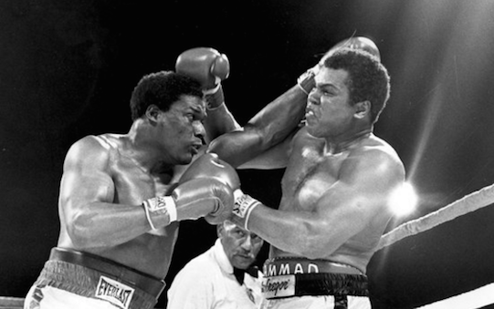 Muhammad Ali battled Trevor Berbick for 10 rounds before losing his final bout in 1981. (AP Photo.)