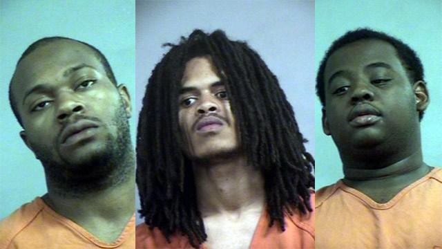 David Newson, Larry Warren and Devon Taylor (Source: Louisville Metro Corrections)