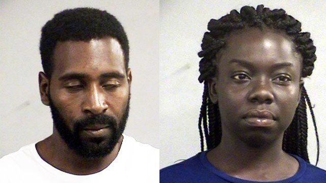 Stephen Cureton and Shanese Harrison (Source: Louisville Metro Corrections)