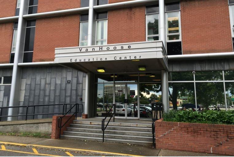 Van Hoose Education Center, the central office of Jefferson County Public Schools