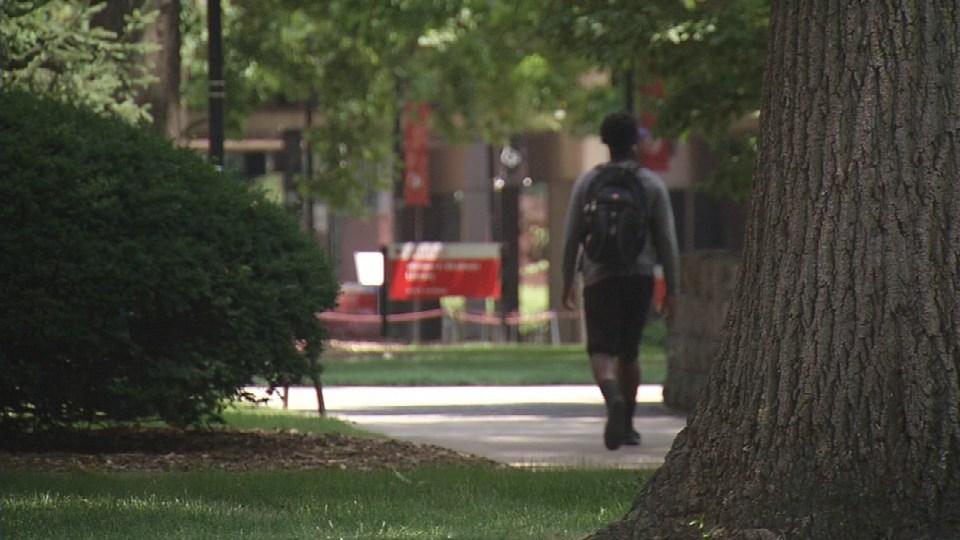 The University of Louisville's Belknap campus