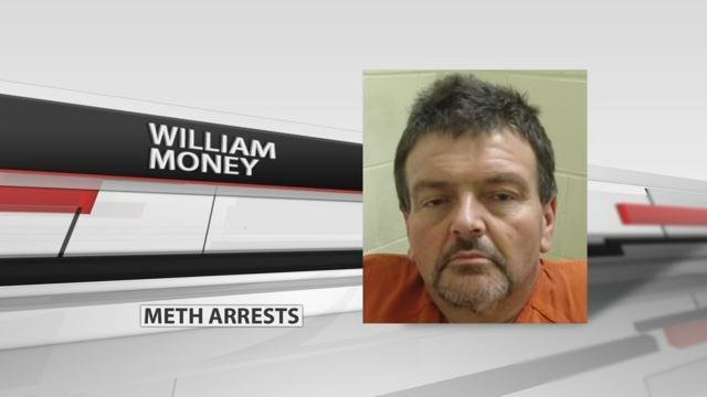 William Money (source: Indiana State Police)Indiana State Police have arrested four people and charged them dealing in methamphetamine.