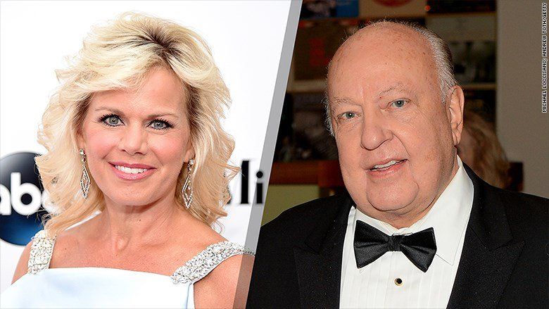 Gretchen Carlson and Roger Ailes (Credit: Michael Loccisano / Andrew Toth / Getty)