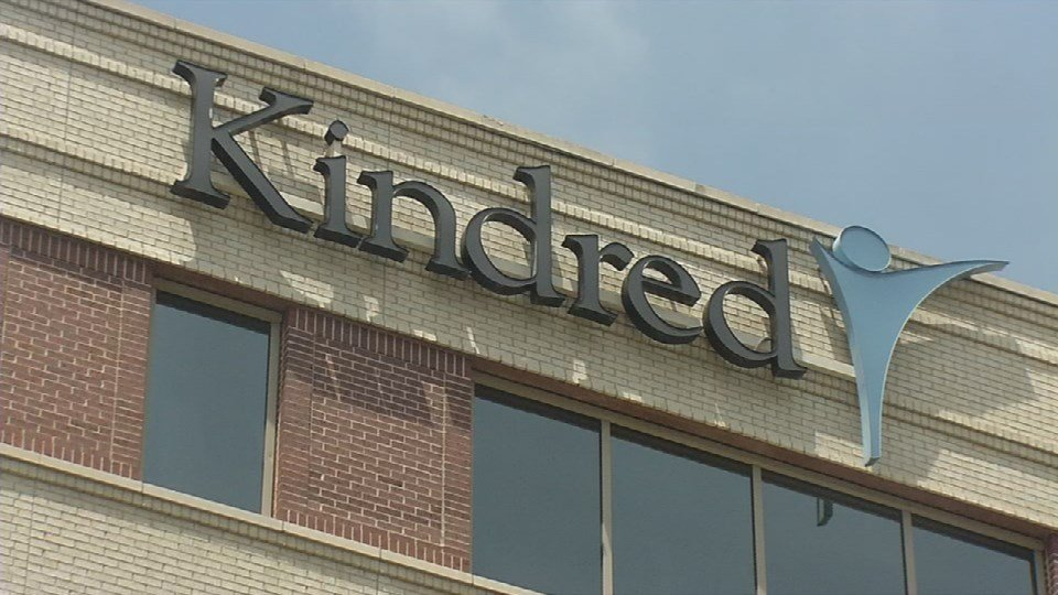 Kindred Healthcare's headquarters in downtown Louisville