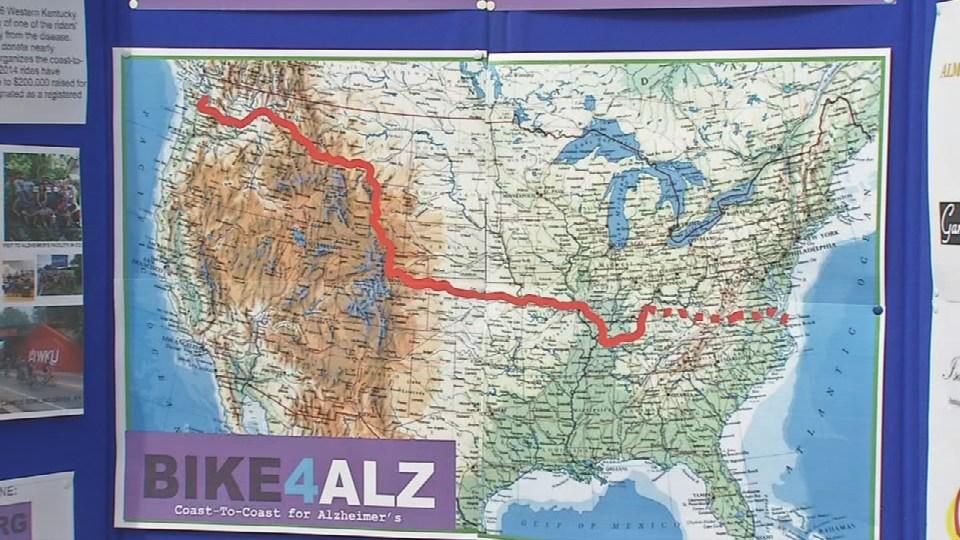 Bike4Alz route