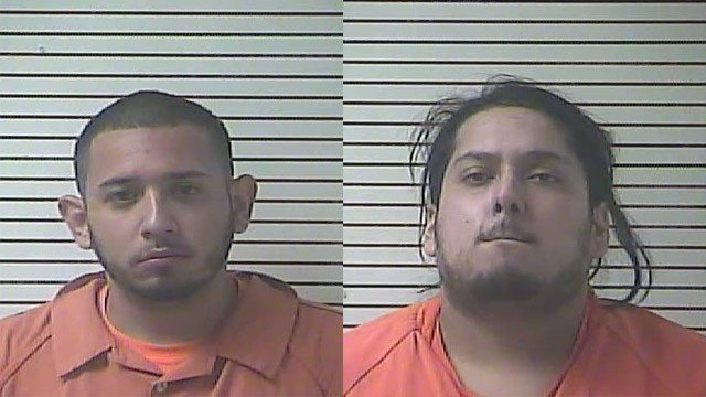 Jason Delgado-Enrique and Missael Coello-Eduardo (Source: Hardin County Detention Center)