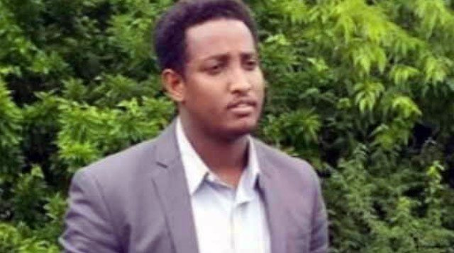 Abdirahman Mohamed was shot last month near the intersection of 32nd Street and Hale Avenue in the Parkland neighborhood.