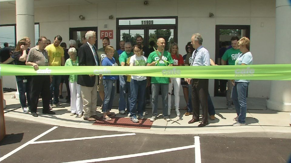 CafePress moved its original headquarters from California to southwestern Jefferson County in 2012. On July 14, 2016, company leaders celebrated at their newest headquarters in Middletown on Shelbyville Road.