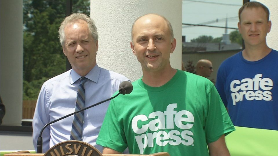 CafePress CEO Fred Durham