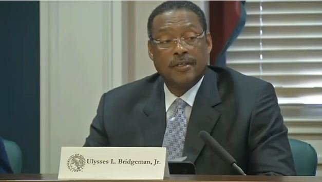 University of Louisville Board of Trustees Chair Pro-Tem Junior Bridgeman