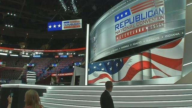 The Republican National Convention started July 18 in Cleveland, Ohio.