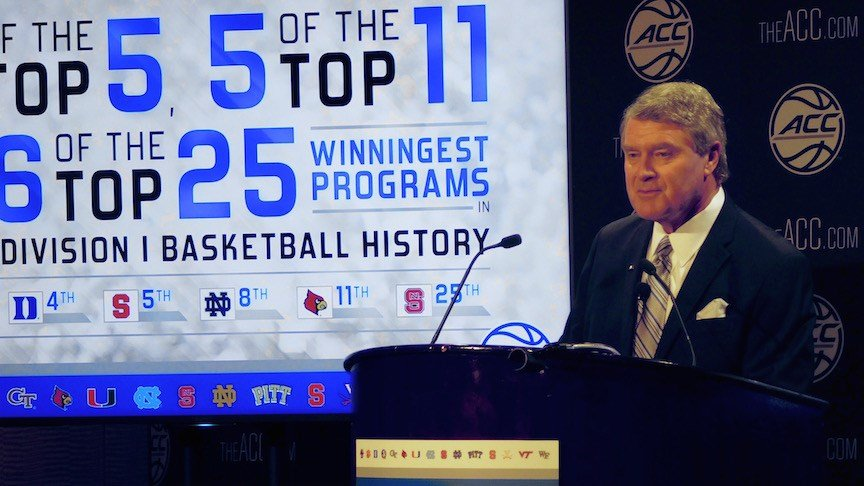 ACC commissioner John Swofford. (WDRB photo by Eric Crawford)