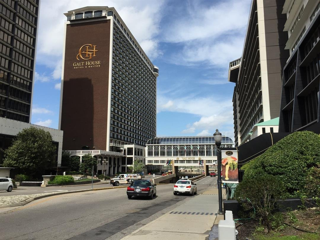 The Galt House is the biggest hotel by rooms in downtown Louisville.