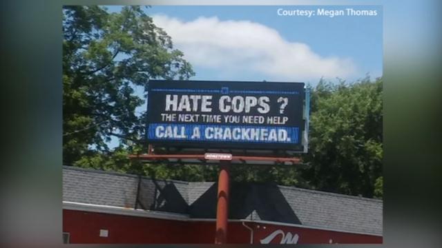 This billboard in Muncie, Indiana raised eyebrows.