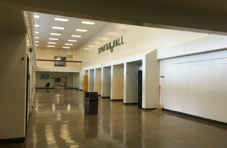Spartan Hall will remain the central part of the school (Photo by Toni Konz, WDRB News)