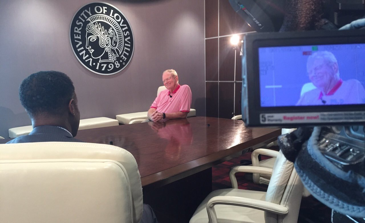 Former U of L and U of L Foundation President James Ramsey speaks with WDRB's Stephan Johnson, July 28, 2016