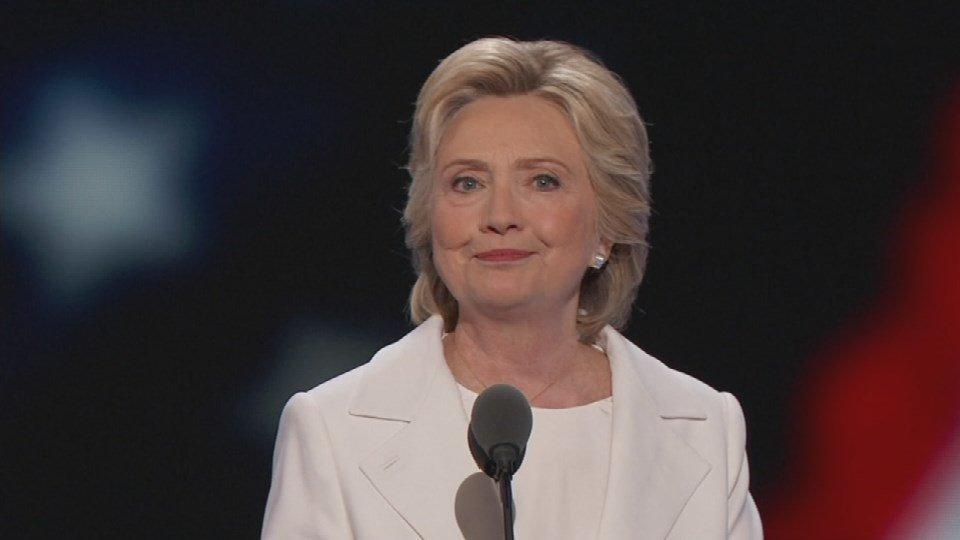 Hillary Clinton mad history Thursday night when she became the first woman to accept the nomination to become President of the United States.