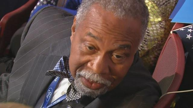 Senator Gerald Neal says Hillary's speech looked to the future as opposed to the past.