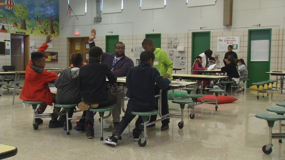 Students participating in a lesson at Byck Elementary School (WDRB file photo)
