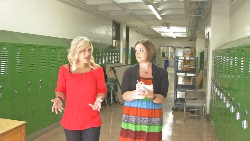 Interviewing Laura Dalton about her plans for the start of the year at Stuart Academy