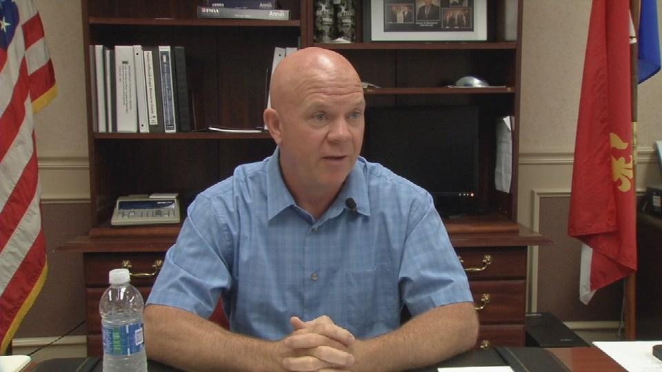 Bardstown Mayor John Royalty