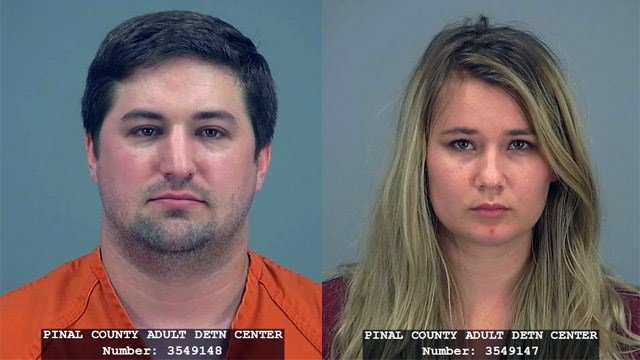 Brent and Brianne Daley (Source: Pinal County Adult Detention Center)