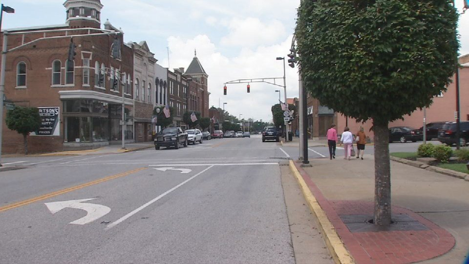 Downtown Springfield, Ky.
