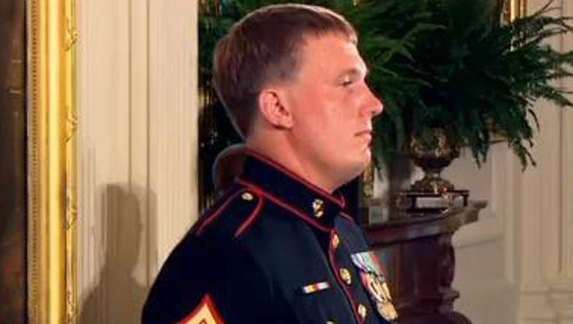 Dakota Meyer was awarded the Medal of Honor after he charged five times in a HumVee into heavy gunfire in the darkness of an Afghanistan valley to rescue comrades under attack from Taliban insurgents in September of 2009.