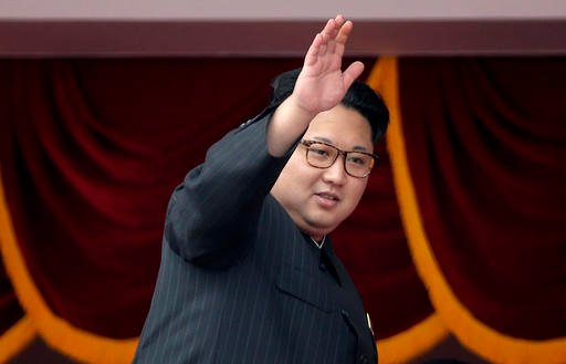 n this May 10, 2016 file photo, North Korean leader Kim Jong Un waves at parade participants at the Kim Il Sung Square in Pyongyang, North Korea.