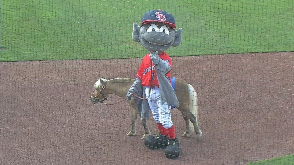 Winston threw out the first pitch at a Louisville Bats game in 2016.