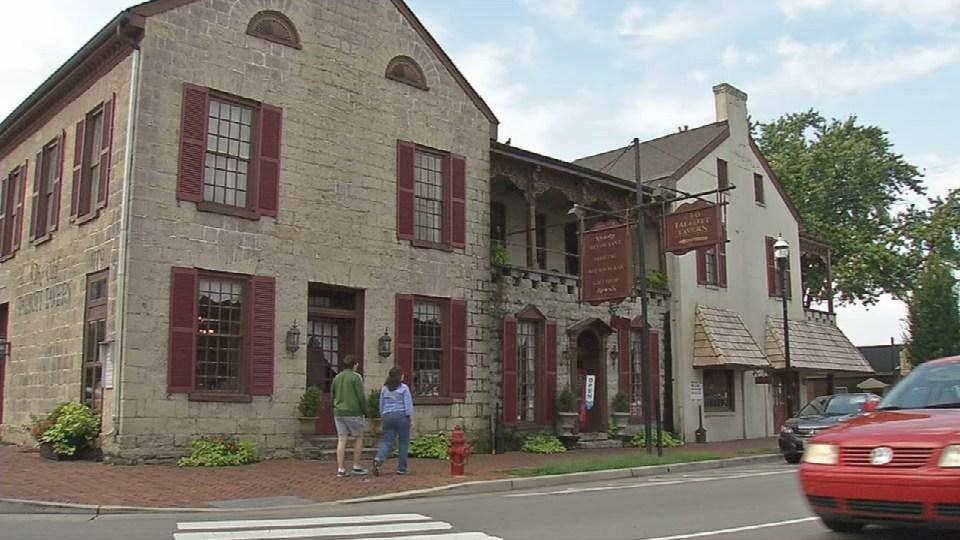 The Talbott Tavern was built in 1779.