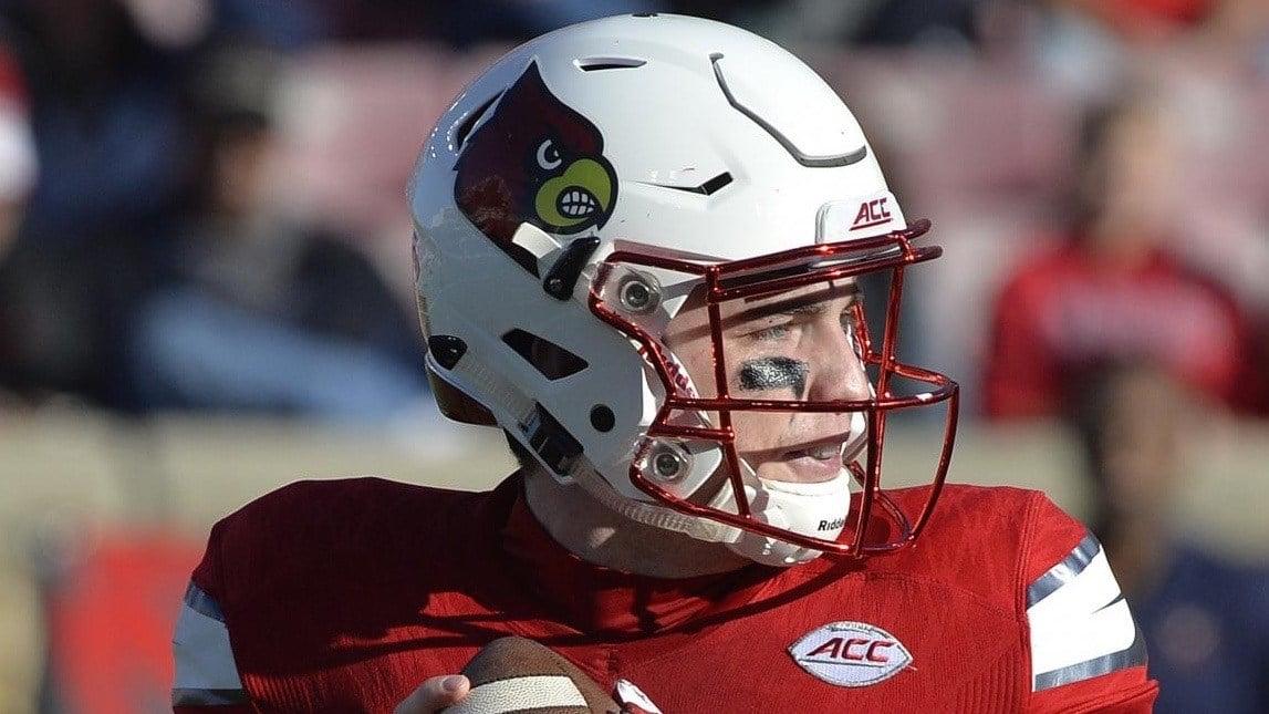 Louisville quarterback Kyle Bolin. (AP photo)