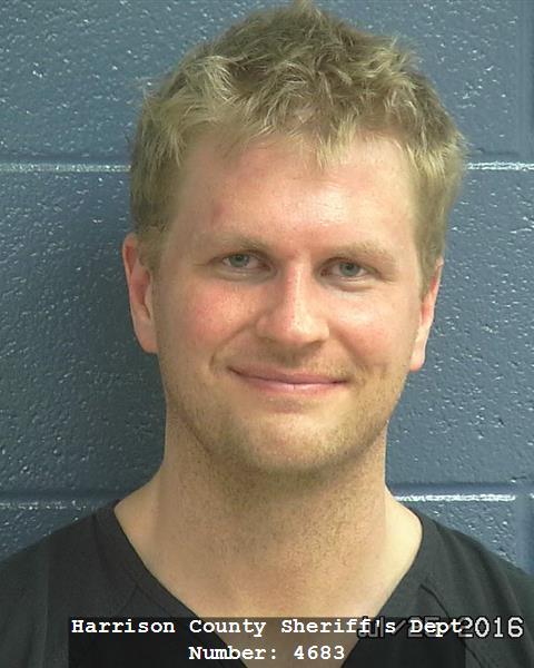 Jared Richardson (Source: Harrison County Detention Center)