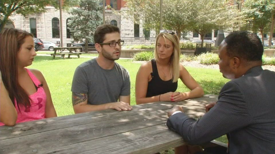 Jenni Meredith, Matthew Murphy and Tara Moseley say the Angel Program is one way to start the recovery process.