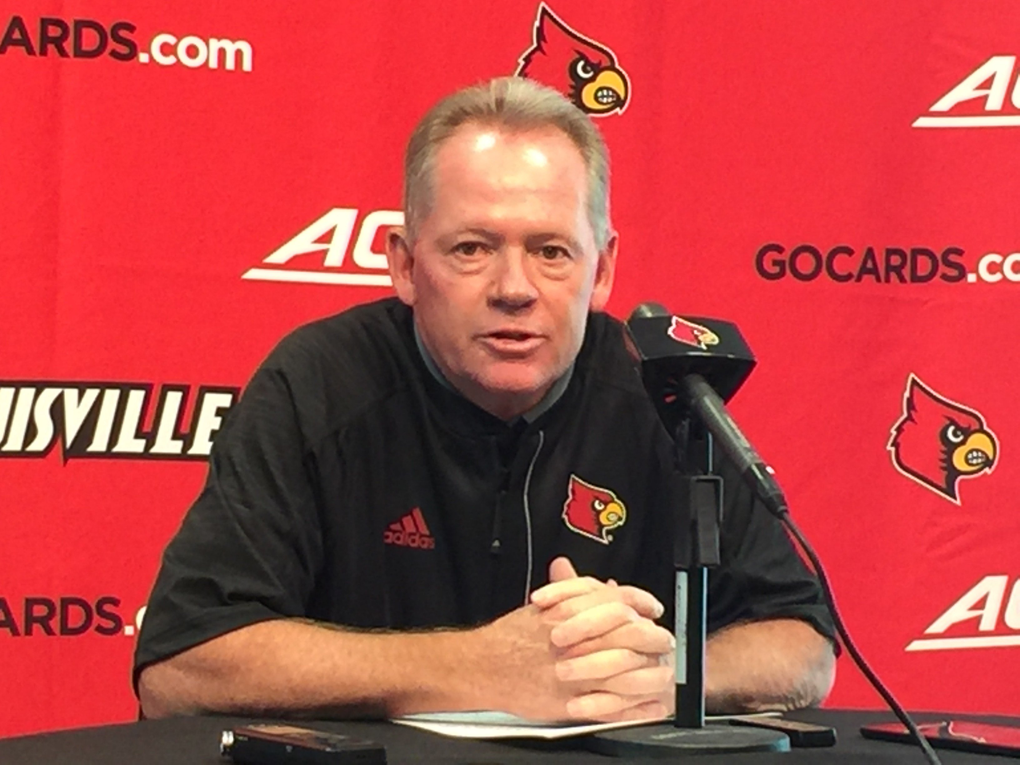 Bobby Petrino issued a statement about an issue with his Twitter account.