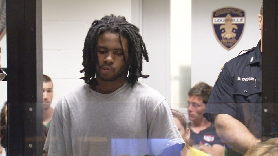 Quennel Young during a court appearance on Aug. 11, 2016.