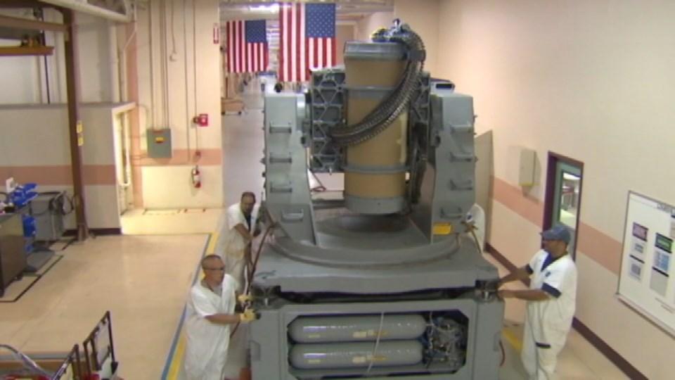 Inside Raytheon's Louisville factory (company provided)