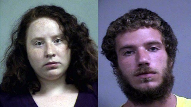 Alexa Cook and Taz Osgood (Source: Louisville Metro Corrections)