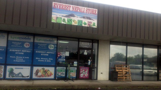 FBI agents seized evidence from the Everest Nepali Store in Beuchel on Aug. 17, 2016.