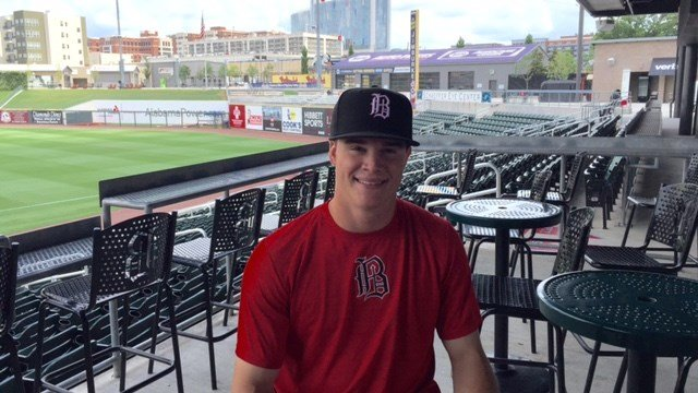 Former Louisville relief pitcher Zack Burdi is the only player taken in the 2016 draft pitching in AAA.